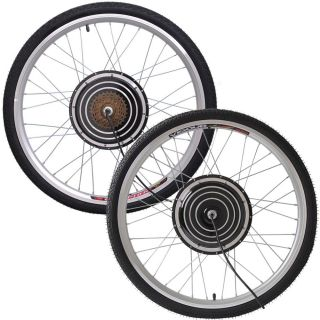 24V 500W 26 Front/Rear Wheel Electric Bicycle Motor Kit E Bike Hub