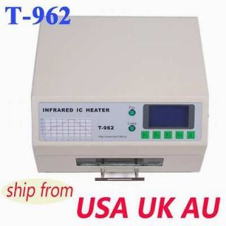 800W EXCELLENT T962 INFRARED IC HEATER REFLOW WAVE OVEN BGA SMD 180