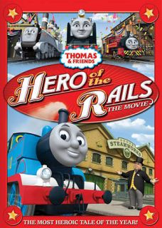 Thomas & Friends Hero of the Rails   The Movie (DVD, 2009)