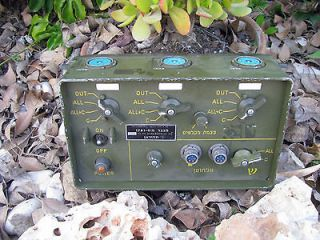 AM 1780 VIC 1 Intercom working Military Radio RT 524 Humvee APC