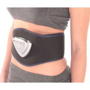 Ab Gym Abdominal Muscle Toning System Belt for a Slender Toned Waist