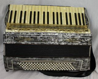Hohner IV Accordion w/ Case Vintage Made in Germany