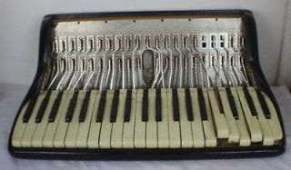 Vintage Noble Accordion Treble Section Parts/Repair 18 Keyboard