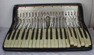 Vintage Noble Accordion Treble Section Parts/Repair 18 Keyboard