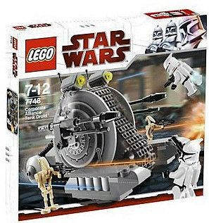 NEW Lego 7748 Corporate Alliance Tank Droid STAR WARS I AM THE SELLER