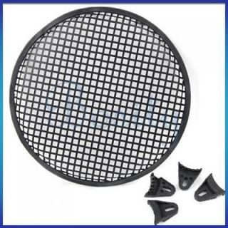 12 CAR AUDIO SUBWOOFER SPEAKER COVER with GRILL Holder