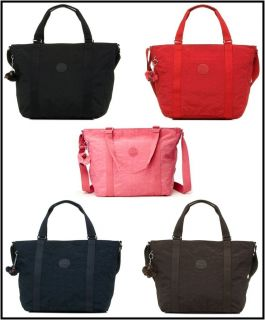Kipling Adara M Tote Bag TM4055 Black/Espresso /Red/True Blue/Pink