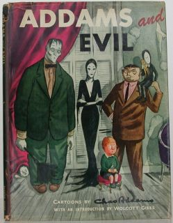CHARLES ADDAMS Addams and Evil INSCRIBED FIRST EDITION