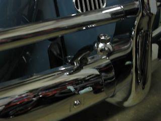 PAIR VW BUG SPLIT OVAL WINDOW DRIVING FOG LIGHTS MOUNTING BRACKETS
