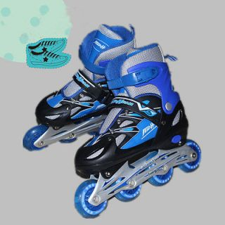 NEW YOUTH/BOY/GIRL INLINE SKATES ROLLER BLADES ADJUSTABLE SIZE PINK