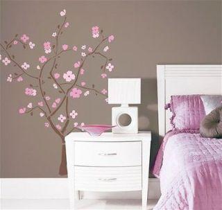 SPRING BLOSSOM Tree REM Wall Decor Mural Sticker  D4LM