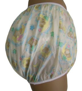 Baby Plastic Pants, Adult Sizes Sleepy Bear Bedwetter