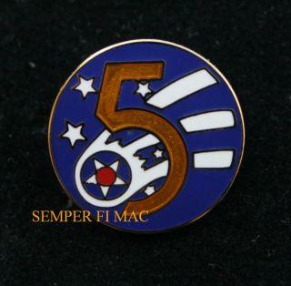 AIR FORCE PACAF YOKOTA AIR BASE AFB WORLD WAR 2 HAT PIN ARMY AIR CORPS