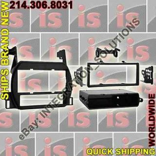RADIO REPLACEMENT PKG Dash Kit +Wire Harness Stereo Single DIN 99 7418