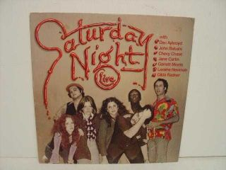 SATURDAY NIGHT LIVE LP AL 4107 TV SKITS SOUNDTRACK 0724 R VG/EX C VG