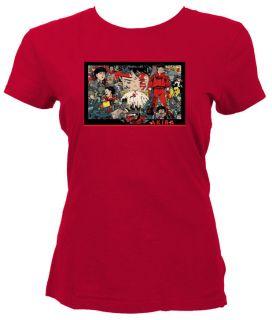 1988,AKIRA RETRO ANIMATED MOVIE T SHIRTS STYLISH RED VINTAGE MEDIUM