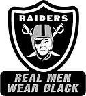 RAIDERS LARGE WHITE SILVER PINK WINDOW DECAL AL DAVIS JUST WIN BABY