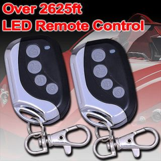 2600 FM Car Alarm Keyless Entry Remote Start Starter Vehicle Security