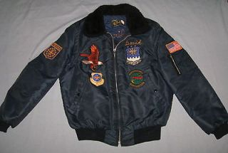 AIR FORCE INDIANA    437 AERIAL PORT SQUADRON    ME DIUM JACKET