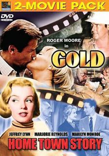 DVD, Gold/Home Town Story,Marilyn Monroe, Jeffrey Lynn