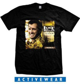 Luke Bryan Country Singer Farm Tour Ill Stay Me T Shirt size S 2XL
