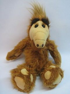 Vtg 19 XL Coleco ALF ALIEN LIFE FORM Original Doll Stuffed Animal