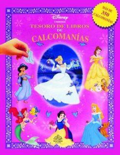Tesoro de libros de calcomanias princesas / Book Treasury of princess