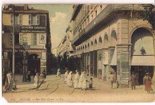 113 Alger Rue Bab Azoun   LL Postcard