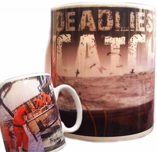CATCH MUG   REALITY TV BERING ALASKAN SEA KING CRAB DUTCH HABOUR