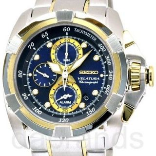Seiko Alarm Chronograph Mens Watch in Jewelry & Watches
