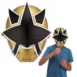 NEW POWER RANGERS SUPER SAMURAI SHOGUN RANGER MASK   GOLD