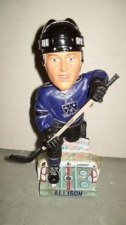 "JASON ALLISON Bobble Head Forever Collectibles Limited Edition ""Men"