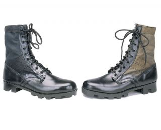 Military Army Canvas Panama Jungle Combat Boots