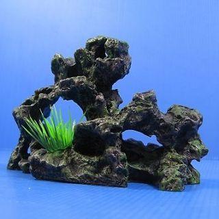 Rock cave ruins Aquarium Ornament Decoration Decor 6.9 X 2.5 X 4.3