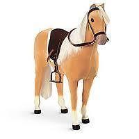 AMERICAN GIRL DOLLS   Palomino Horse   Pony Palamino Doll   NEW IN BOX