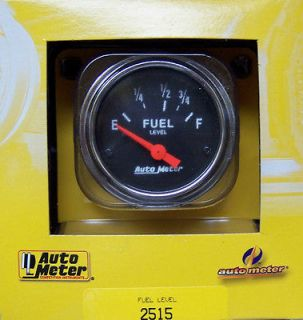 CHROME FORD MOPAR DODGE FUEL LEVEL GAUGE (Fits 1966 Mustang