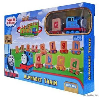 Thomas & Friends ALPHABET Train Wooden Toy Includes Thomas & 13