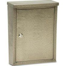 Architectural Mailbox Laguna Antique Pewter Wall Mount Mail box