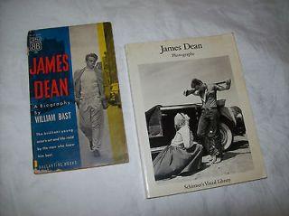 JAMES DEAN (A BIOGRAPHY) PAPERBACK & JAMES DEAN PHOTOGRAPHS