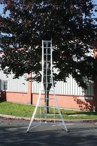 Newly listed Workware Aluminium tripod ladder 3.6m 12ft Tree Surgeon