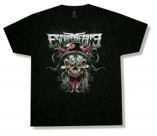ESCAPE THE FATE CHOSEN VIKING SKULL BLACK T SHIRT NEW ADULT OFFICIAL