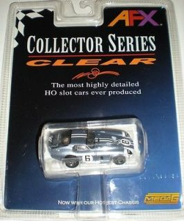 AFX Daytona Coupe #6 Amon Clear Collector Series HO Slot Car #70341
