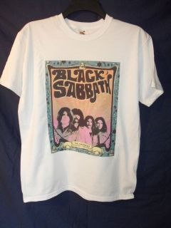 Black Sabbath Psychedelic T shirt All Sizes Available Brand New