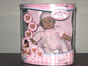 BABY ANNABELL INTERACTIVE DOLL Tender Kisses ZAPF CREATION   RARE