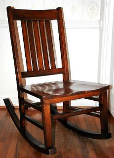 Antique Rocking Chairs Oak