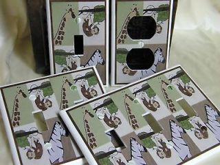 JOJO JUNGLE SAFARI ANIMAL DESIGN LIGHT SWITCH COVER