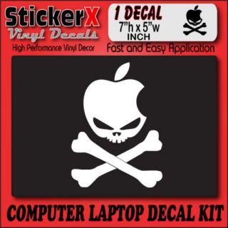 APPLE HACKINTOSH LOGO Computer Mod Decal Sticker 5x7 In
