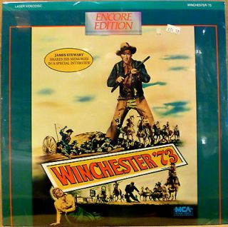 SEALED Western Laserdisc WINCHESTER 73 James Stewart Anthony Mann