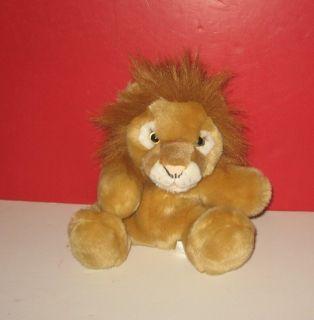 Animal Alley Lion Jungle King 10 Plush Full Body Hand Puppet w/ Roar