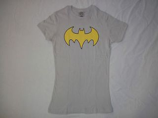 Shirt Juniors Women DC Comics Batgirl Silver Batman